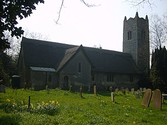Frederick Arnold - All Saints' Church, Ringsfield