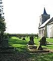 All Saints Church - churchyard - geograph.org.uk - 1263812.jpg