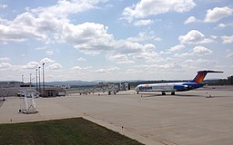 Allegiant Air MD-83 (N425NV) at Asheville Regional Airport