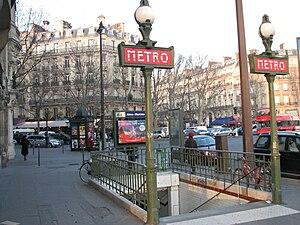 Alma – Marceau (Paris Métro) - Image: Alma Marceau