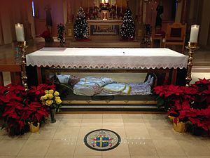 John Neumann - Image: Altar of St. John Neumann