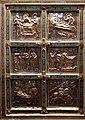 Altare di s. ambrogio, 824-859 ca., retro di vuolvino, storie di sant'ambrogio 01.jpg