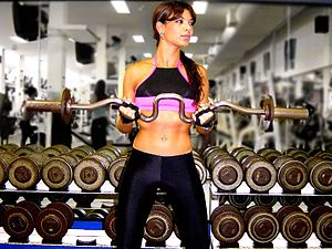 Biceps curl - EZ barbell curl