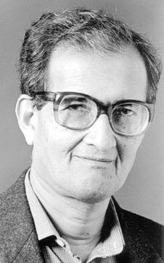 Amartya Sen - Official Portrait at the Nobel Prize
