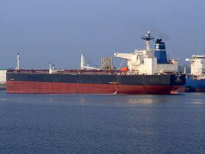 Amba Bhakti p2 at the '7e Petroliumhaven', Port of Rotterdam, Hollad 03-Jun-2007.jpg