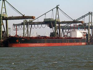 Amber Star IMO 8420139, Mississippi harbour, Port of Rotterdam, Holland 24-Feb-2006.jpg