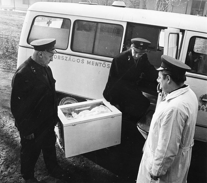 File:Ambulance, incubator Fortepan 84699.jpg