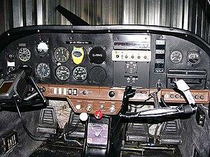 Grumman American AA-1 - American Aviation AA-1 Yankee instrument panel