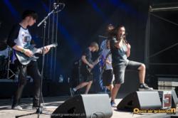 Amongst Pariahs live am Open Air Gränichen 2015