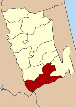 Amphoe location in Phatthalung Province
