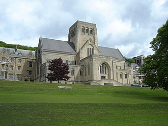 Ampleforth Abbey - Image: Ampleforth Abbey geograph.org.uk 1036357