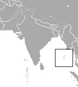 Andaman shrew - Image: Andaman Shrew area