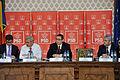 Andrei Dolineaschi, Liviu Dragnea si Victor Ponta la reuniunea CExN al PSD - 06.02.2014 (12343762185).jpg