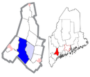 Androscoggin County Maine Incorporated Areas Auburn Highlighted.png