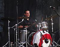 Andy Laaf (Mad Sin) (Ruhrpott Rodeo 2013) IMGP7537 smial wp.jpg