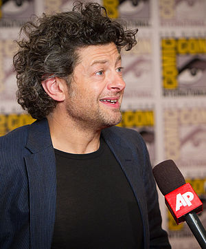 Andy Serkis - Serkis at the 2011 San Diego Comic-Con International.