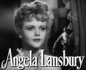 The Picture of Dorian Gray (1945 film) - Image: Angela Lansbury in The Picture of Dorian Gray trailer