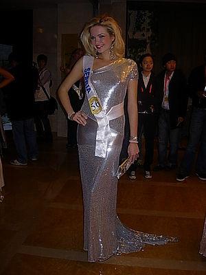 Miss Serbia - Anja Šaranović, Top 15 at Miss International 2010