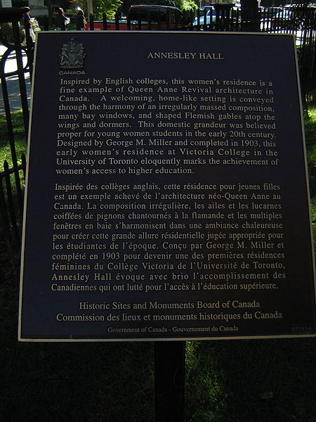 File:Annesley Hall - Historic Sites plaque.JPG