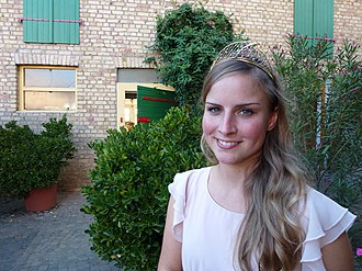 German Wine Queen - German Wine Queen 2011/2012: Annika Strebel (Rheinhessen wine region)