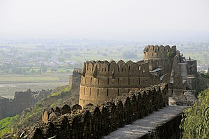 Rohtas Fort - Rohtas Fort was built upon a hill overlooking the Pothohar plateau.