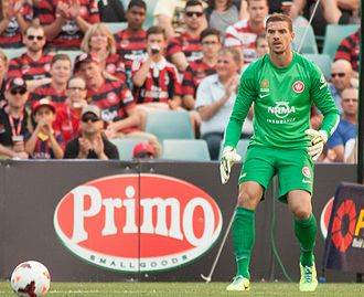 Ante Covic - Ante Covic, goalkeeper for the Wanderers