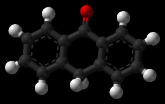 Anthrone - Image: Anthrone 3D balls