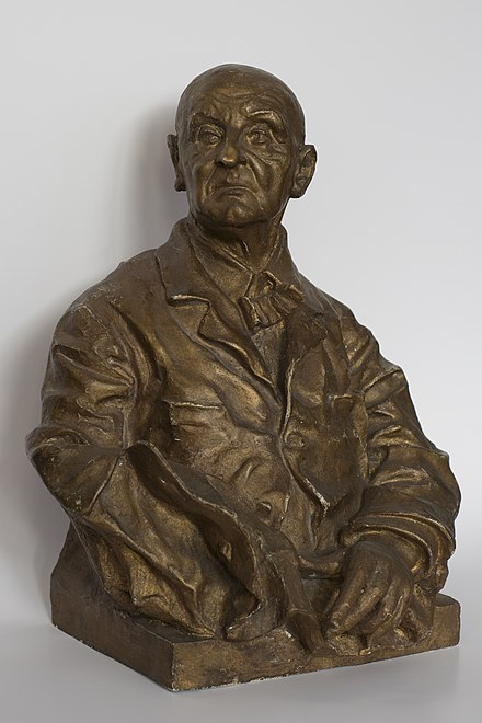Copy of the Tilgner bust Anton Bruckner Bust.jpg