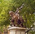 Antonin Mercié - Statue équestre de Jeanne d'Arc 1922 - Toulouse - fondeur Barbedienne.jpg
