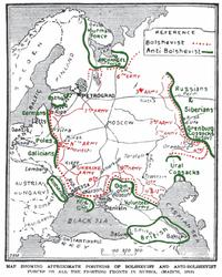 Громадянська війна у росії
