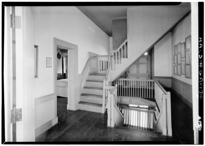 File April 1962 Stair Complex Second Floor View North