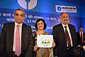 Aravamudan Krishna Kumar - Arundhati Bhattacharya - P Pradeep Kumar - SBI Annual Results Presentation - Kolkata 2014-05-23 4549.JPG