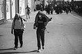 Arba'een In Mehran City 2016 - Iran (Black And White Photography-Mostafa Meraji) اربعین در مهران- ایران- عکس های سیاه و سفید 27.jpg