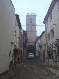 Argavieso - Iglesia parroquial de la Natividad - Torre.jpg