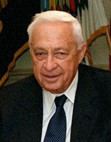 Ariel Sharon 2001