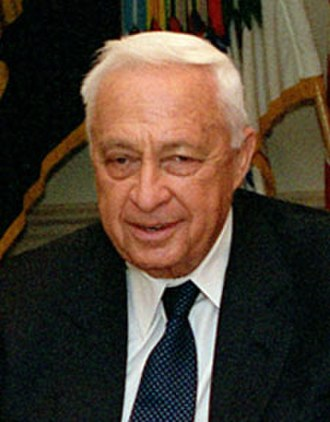Leader of the Opposition (Israel) - Image: Ariel Sharon 2001
