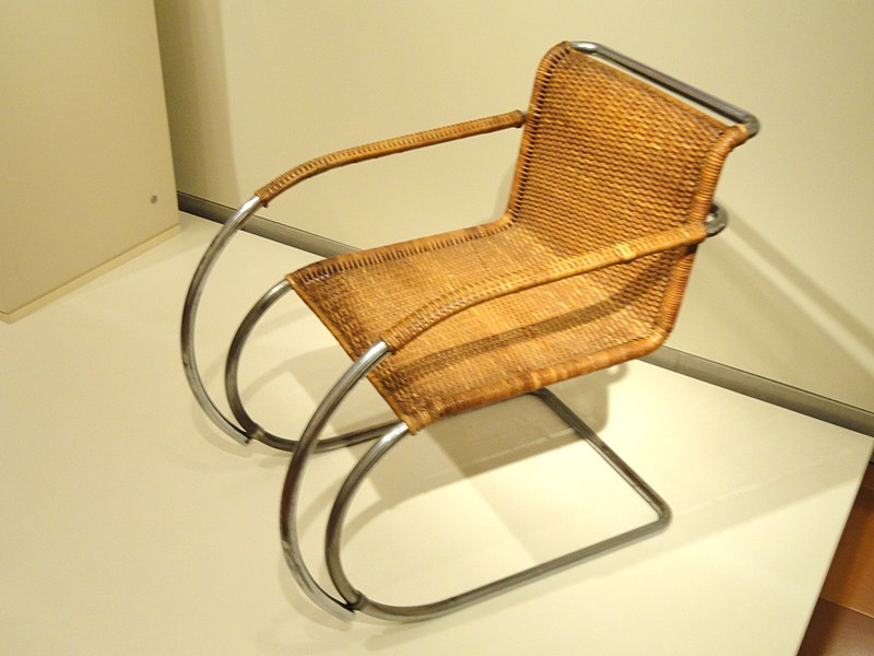 File:Armchair Model MR20, designed 1927 by Ludwig Mies van der Rohe - Nelson-Atkins Museum of Art- DSC08051.JPG