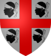 Coat of arms of Sardinia.