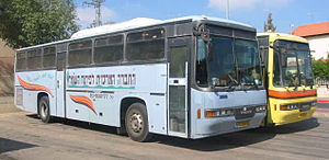 Armoured bus - Armoured school buses in Israel