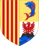 Arms of the French Region of Provence-Alpes-Côte d'Azur.svg