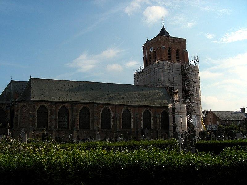 Église Saint-Martin d'Arnèke.