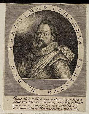John Ernest II, Duke of Saxe-Weimar - Image: Arolsen Klebeband 01 177 1