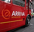 Arriva London Routemaster bus RM2217 (CUV 217C), Haymarket, route 159, 9 December 2005 (4).jpg