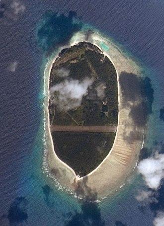 D'Arros Island - Image: Arros island ISS022 E 21186 cropped