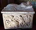 Arte etrusca, urnetta con l'eroe e l'aratro, II sec dc..JPG