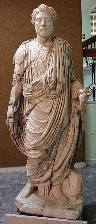 Apollonia (Illyria) - Statue of a Magistrate found in Apollonia