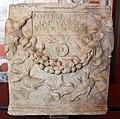 Arte romana, urnetta con iscrizione funebre per popilia ianuaria, II-III sec ca. 01.JPG