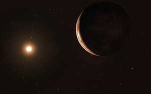 Artist's impression of super-Earth orbiting Barnard's Star.jpg