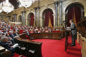 30.09.2009, BarcelonaDebat de política general...