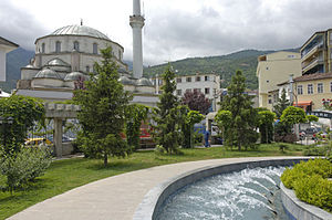 Artvin - Artvin Central Mosque and Park